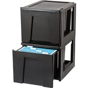 IRIS Stacking File Storage Drawer (Set of 2)
