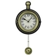 Cooper Classics Harmen Wall Clock
