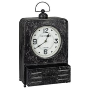 Cooper Classics Patton Table Clock
