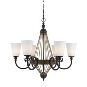 Cal Lighting Monticello 6 Light Chandelier