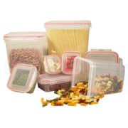 Cook Pro 14 Piece Lock & Seal Food Storage Container Set