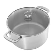 Chantal Induction 21 Steel  6-qt. Round Casserole