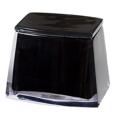 Creative Bath Architectural Jar; Black