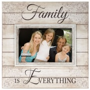 Malden 4'' x 6'' Family Is Everything Sunwashed Wood Picture Frame