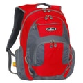 Everest Deluxe Traveler's Laptop Backpack; Red / Grey