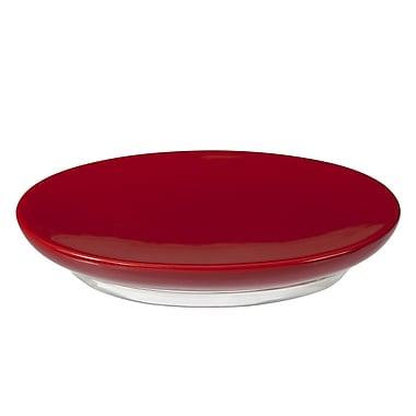 Creative Bath Gem Soap Dish; Red
