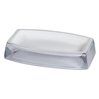 Creative Bath Architectural Soap Dish; White
