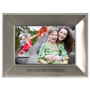 Malden 4'' x 6'' My Favorite People Beaded Picture Frame