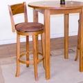 Sunny Designs Sedona 30'' Swivel Bar Stool with Cushion
