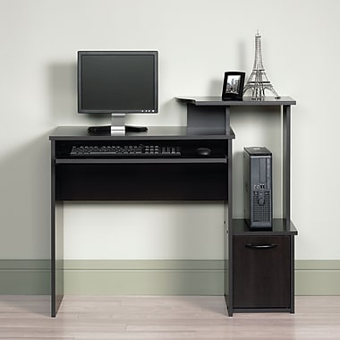 Sauder Computer Desk, Cinnamon Cherry
