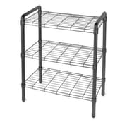 Delta Design Art of Storage Quick Rack 30'' H 3 Shelf Shelving Unit; Black