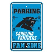 JTD Enterprises NFL Parking Sign; Carolina Panthers