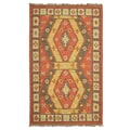 Kosas Home Liam Indoor/Outdoor Kilim Rug; 8' x 10'