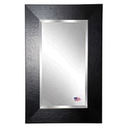 Rayne Mirrors Jovie Jane Wide Leather Wall Mirror