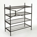 Cosco Home and Office Folding Instant Storage 47.54'' H 4 Shelf Shelving Unit