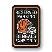 JTD Enterprises NFL Parking Sign; Cincinnati Bengals