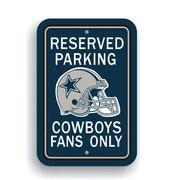 JTD Enterprises NFL Parking Sign; Dallas Cowboys