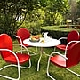Crosley Griffith Metal 5 Piece Outdoor Dining Set;