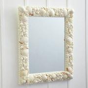 Twos Company  Triton  Shell Mosaic Wall Mirror