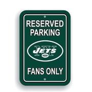 JTD Enterprises NFL Parking Sign; New York Jets