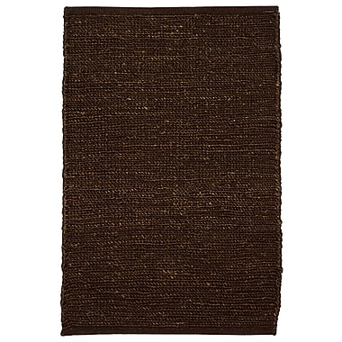 Kosas Home Soumakh Jute Brown Area Rug; 8' x 10'