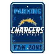JTD Enterprises NFL Parking Sign; San Diego Chargers