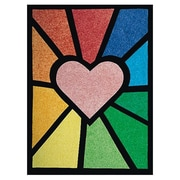 Geeperz™ Colorlite Stained Glass Windows Craft Kit, 50/Pack