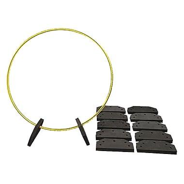 Spectrum™ Candy-Striped EVA Foam Hoop Holders, 12/Pack