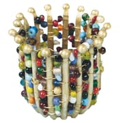 Geeperz™ Jeweled Woven Pot Craft Kit, 24/Pack