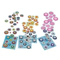 S&S® 1/2 - 2in. Felt Button Stickers