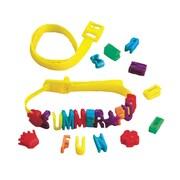 Craft EXpress Summer Fun Bracelet Craft Kit, 12/Pack