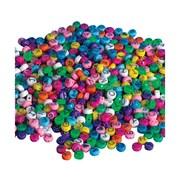 S&S® Pastel Alpha Beads Bag, 600/Bag