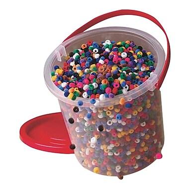S&S® Fuzzy Pony Bead Bucket