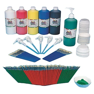 S&S® Tempera Paint Easy Pack