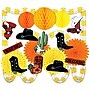 S&S® Western Decorating Kit Easy Pack