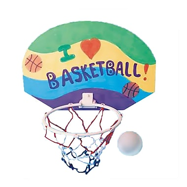 Geeperz™ 2 Points! Basketball Hoops Craft Kit, 12/Pack