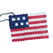Geeperz™ Fuse Bead American Flag Craft Kit, 12/Pack