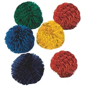 "Spectrum™ Kooshie Balls, 4 1/2"", Assorted, 6/Set"