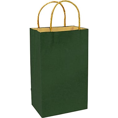 Colour Paper Shopper, Forest Green, Prime, 250/case