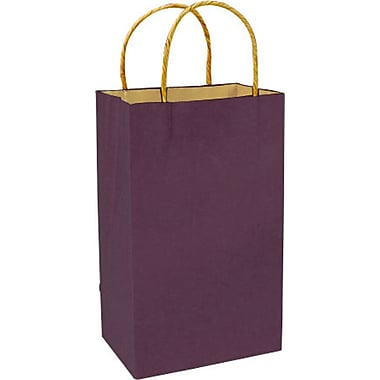 Colour Paper Shopper, Plum, Prime
