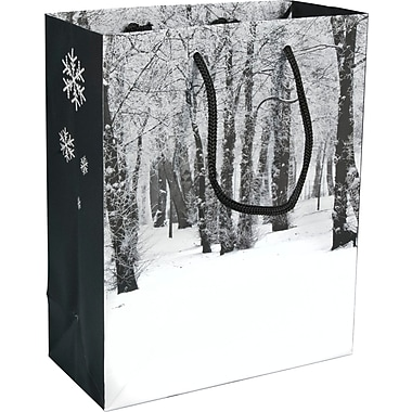 Winter Forest Paper Shopper, 8