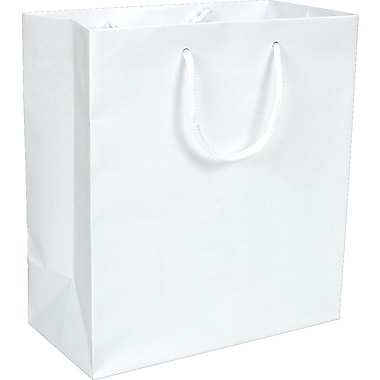 Gunther Mele Ltd. Eurotote, White, 100/Case