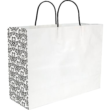 Gunther Mele Ltd. Damask Paper Shopper, 100/Case