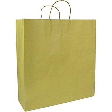 Colour Paper Shopper, Gold, Saville, 200/Box