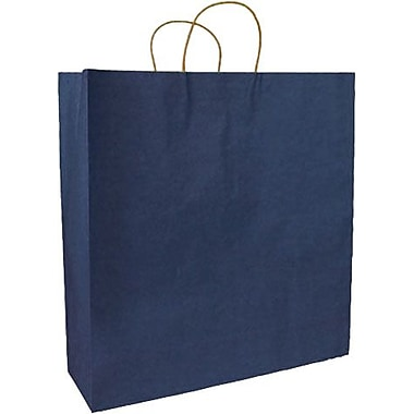 Colour Paper Shopper, Navy Blue, Saville 200/Box