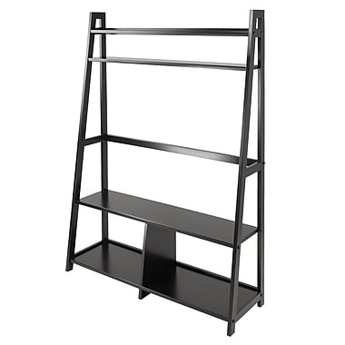 Winsome Adam TV Stand with Shelves