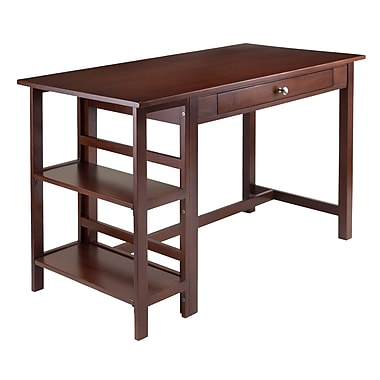 Winsome Velda Writing Desk with 2 Shelves