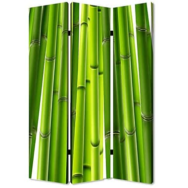 Screen Gems 72'' x 48'' Bamboo 3 Panel Room Divider
