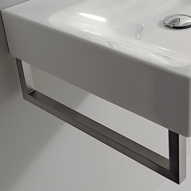 WS Bath Collections Kerasan Fixture Mounted Towel Bar