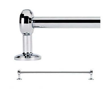 Alno Aria Wall Mounted Towel Bar; Polished Chrome